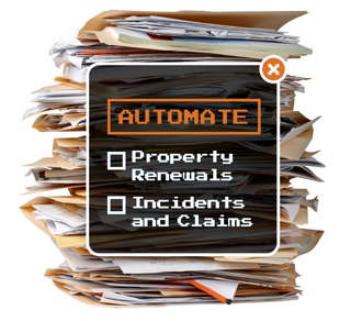 RMIS automation opportunities: property renewals & incidents and claims