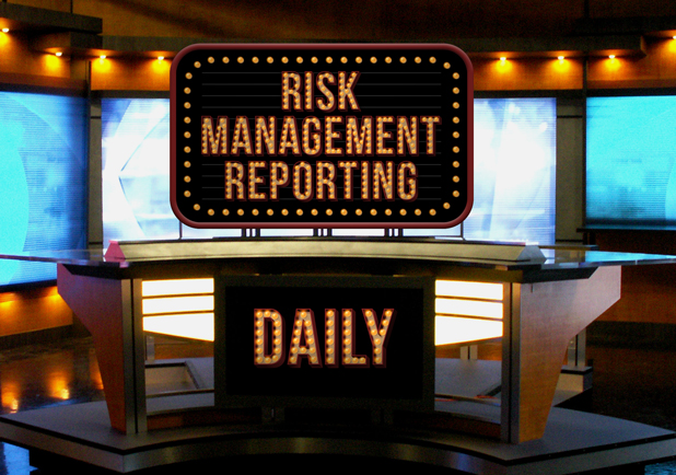 The Daily Show: dashboard reporting from your risk management system