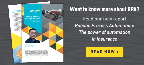 Read our new report Robotic Process Automation: The power of automation in insurance