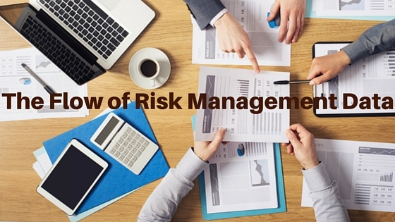 The Flow of Risk Management Data in Corporations