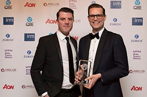 """Another triumph for Ventiv Technology as we win """"Risk Management Solutions of the Year"""" at IRM Global Risk Awards"""